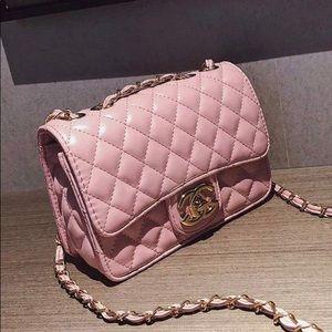 Handbags - Pink Crossbody Bag